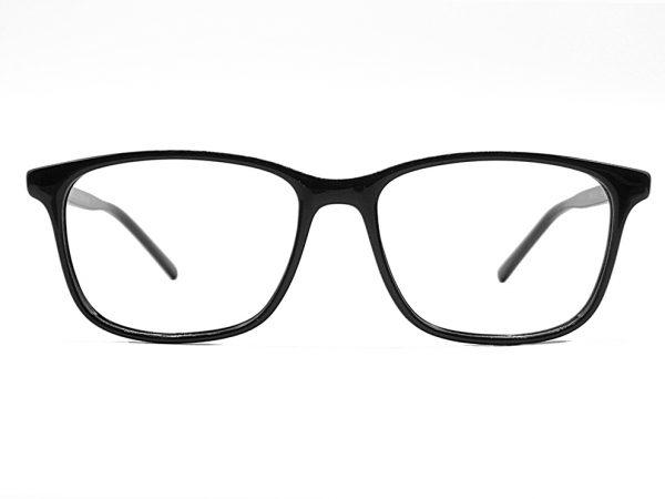 Gafas graduadas Duke de pasta color negro.