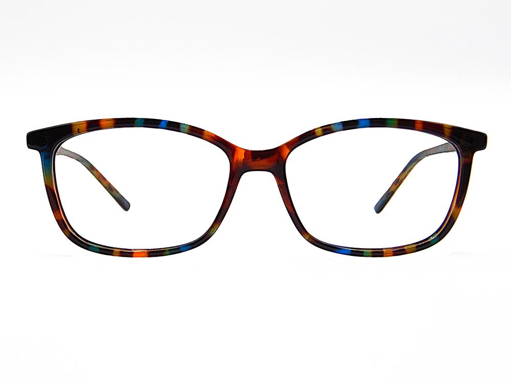 Gafas de pasta multicolor graduadas Gaela de forma cuadrada