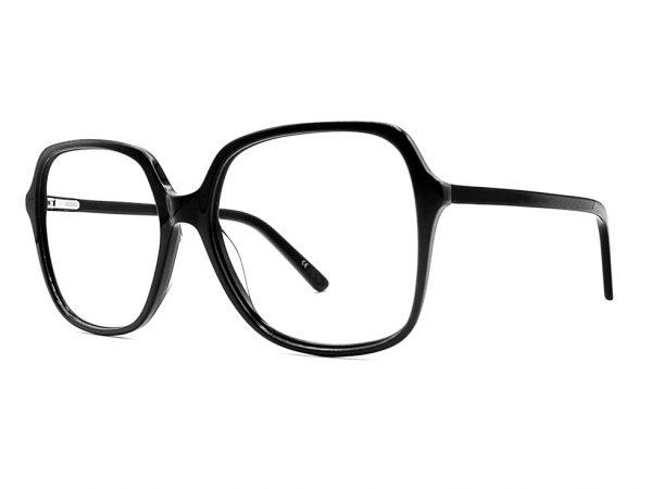 Gafas graduadas oversize de pasta negras para mujer Misha